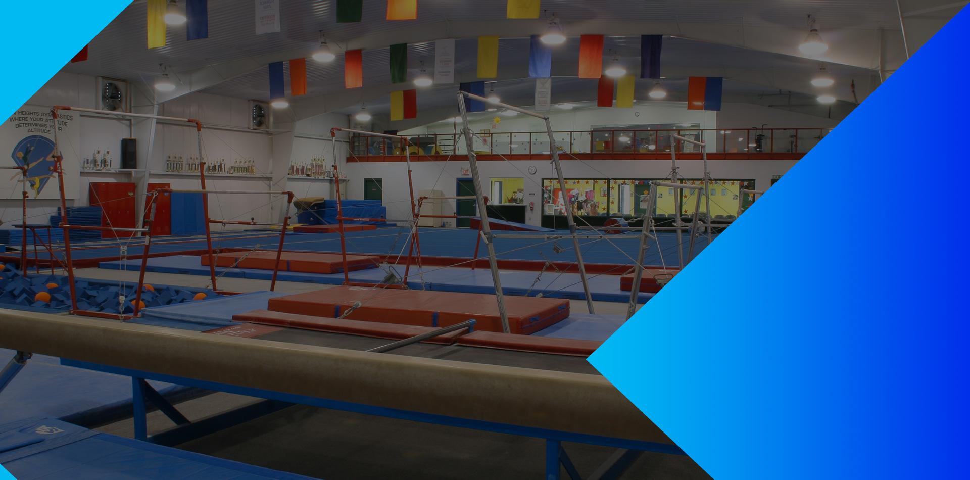 New Heights Athletics Facility Slider
